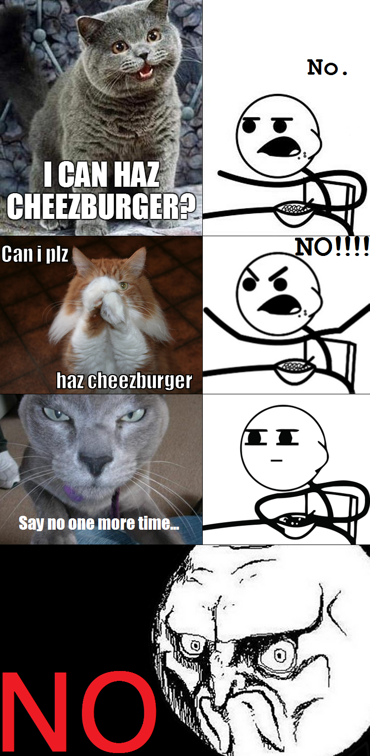 Cereal guy no cheezburger by inf3ct3d d3m0n