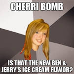 Musically Oblivious 8th Grader - Cherri Bomb