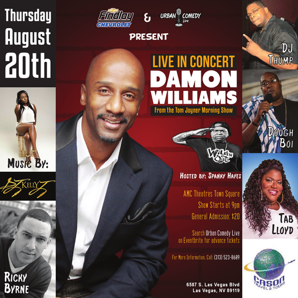 Urban Comedy Live Flyer 8/20/15 by INF3CT3D-D3M0N