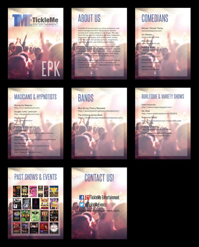 TickleMe Entertainment EPK by INF3CT3D-D3M0N