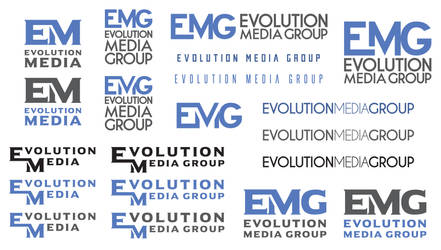 Evolution Media Group Logo Ideas by INF3CT3D-D3M0N