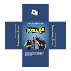 Cards Against Humanity Impractical Jokers Box by INF3CT3D-D3M0N