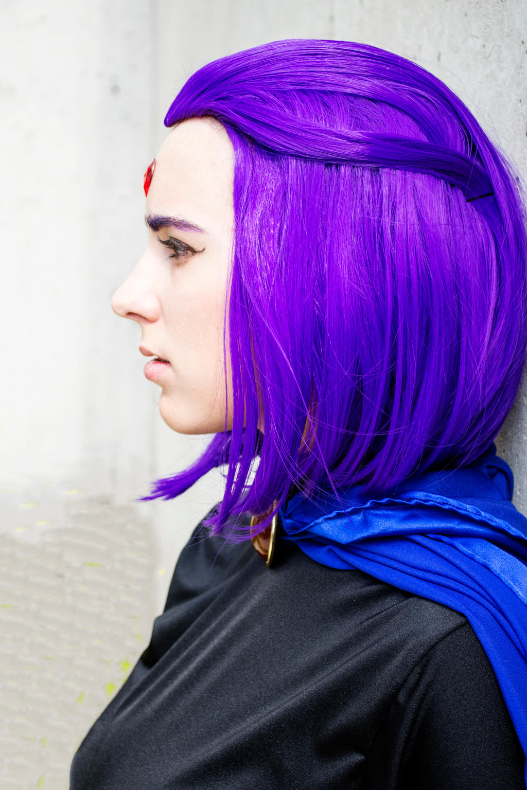 Cosplay Showcase: Arlena Faes Boudoir Raven!