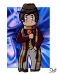 4th Doctor by LittleCan0fHate