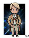5th Doctor by LittleCan0fHate