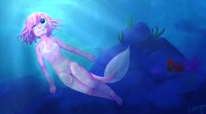 The Axolotl Girl (Comission)