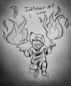 Inktober 7 - Lucas (Mother 3)