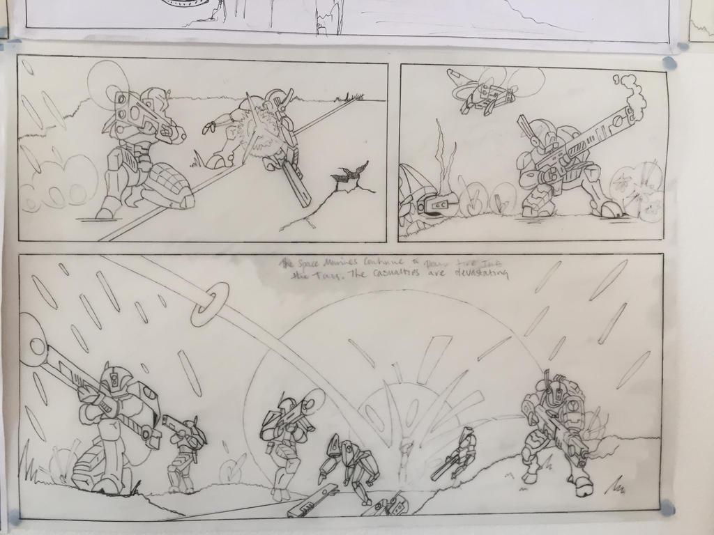 Scene 6 - Tau taking Heavy Fire by Mrledward