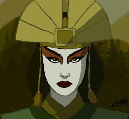 Avatar Kyoshi by casm1