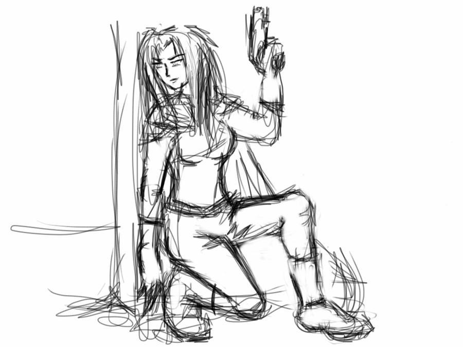 Jenna sketch by Seferia