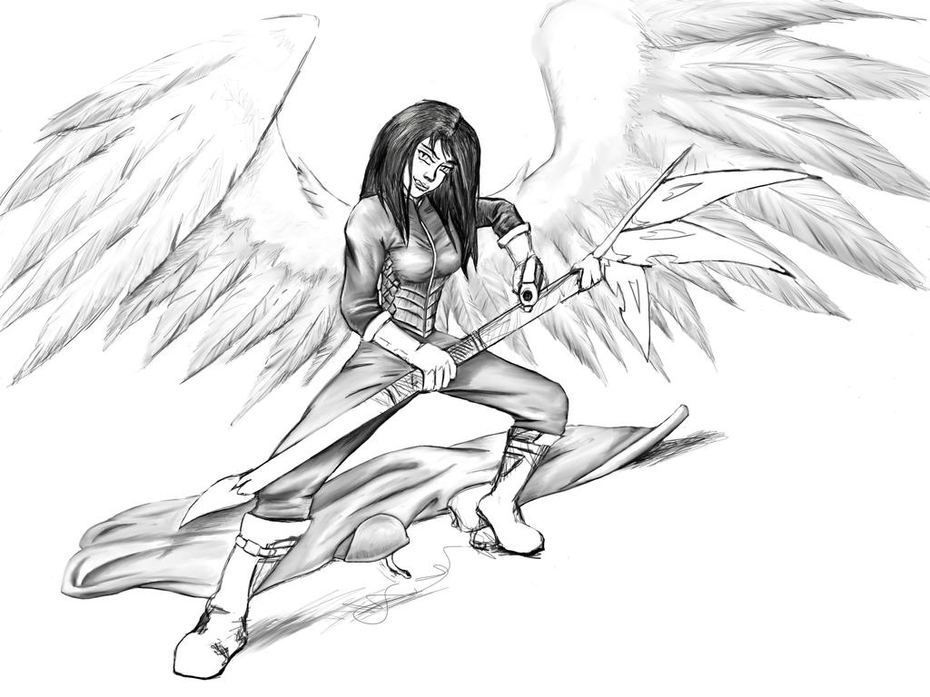 Wings basically done by Seferia