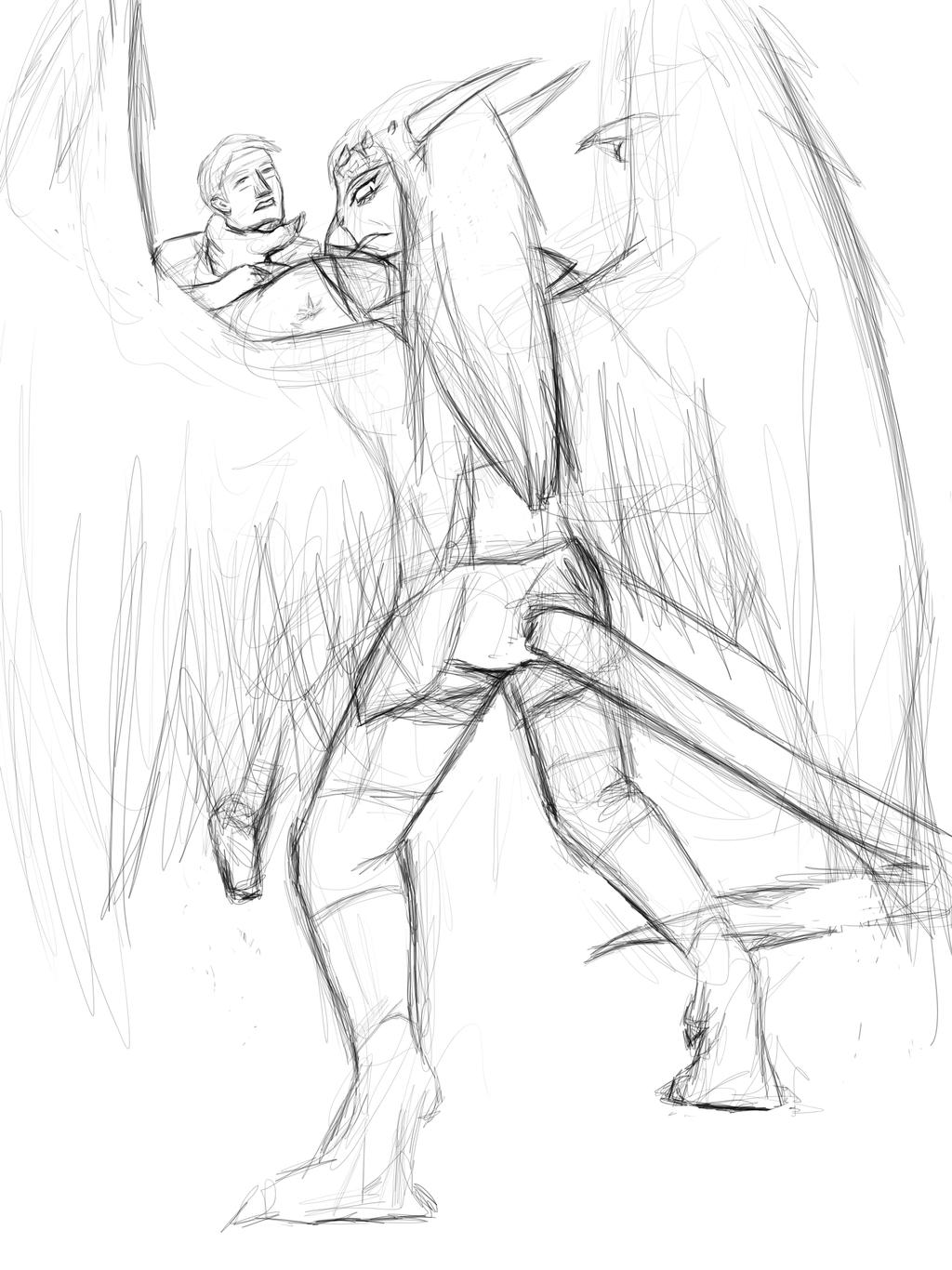 New sketch started by Seferia