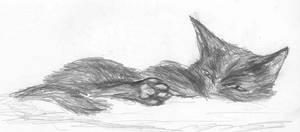 Calypso sketch 2 by Seferia