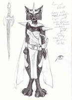 Reference sketch of Clawina by Seferia