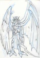 the original Nemesis drawing by Seferia