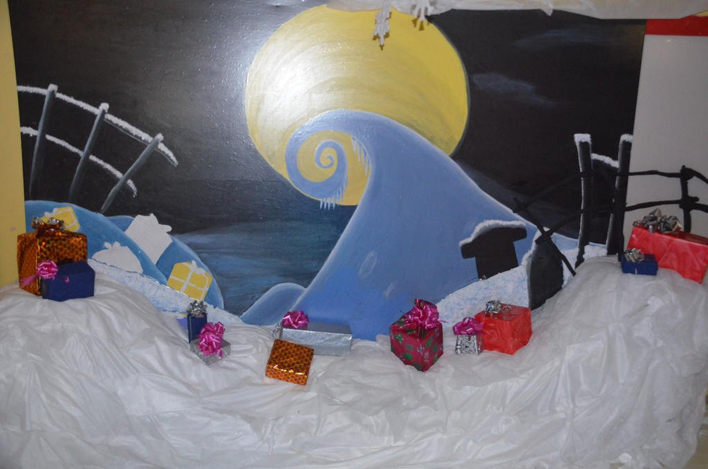 The nightmare before christmas winter scene by pampd on deviantart the nightmare before christmas winter scene by pampd voltagebd Image collections