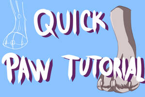How To: A Quick Paw Tutorial -video- by pampd