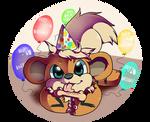 Growlithe, the birthday boy!