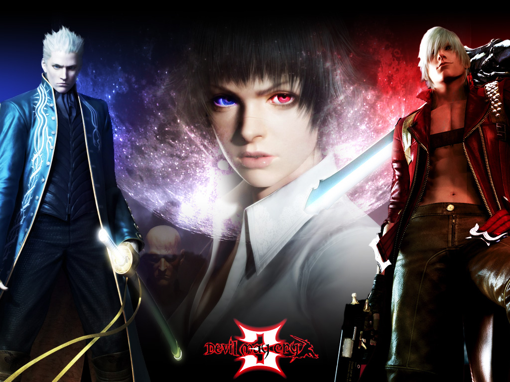 Devil May Cry Dante And Vergil Wallpaper Yvt2 By Nekoynui On