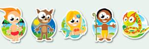 brazilian folklore icons