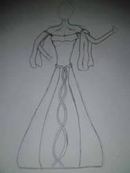 Dream Wedding Dress Design by FireNekoGin