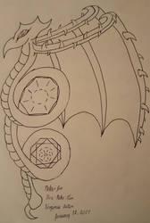 Dragoon Mangica Symbol by FireNekoGin