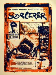 Sorcerer Screenprint Movie Poster by r-k-n