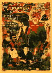 Matango 'Attack of the Mushroom People' Poster by r-k-n