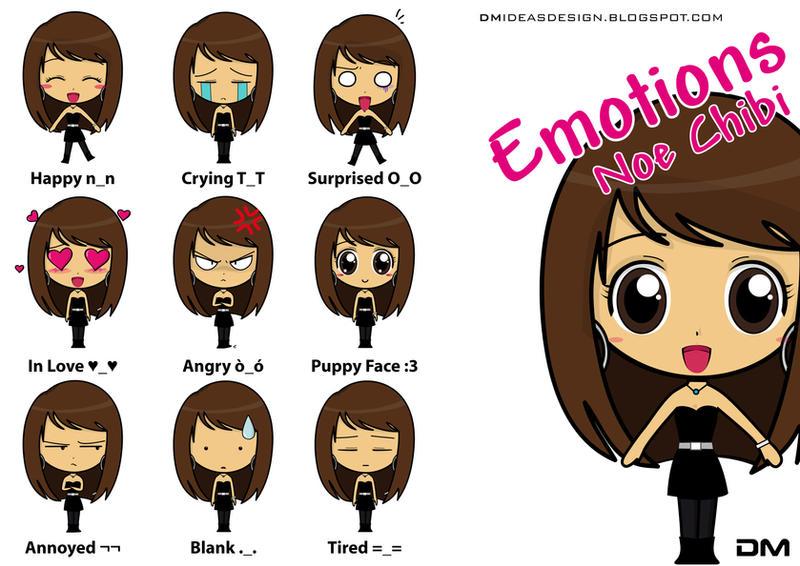 Emotions Noe Chibi By Dmideas On DeviantArt