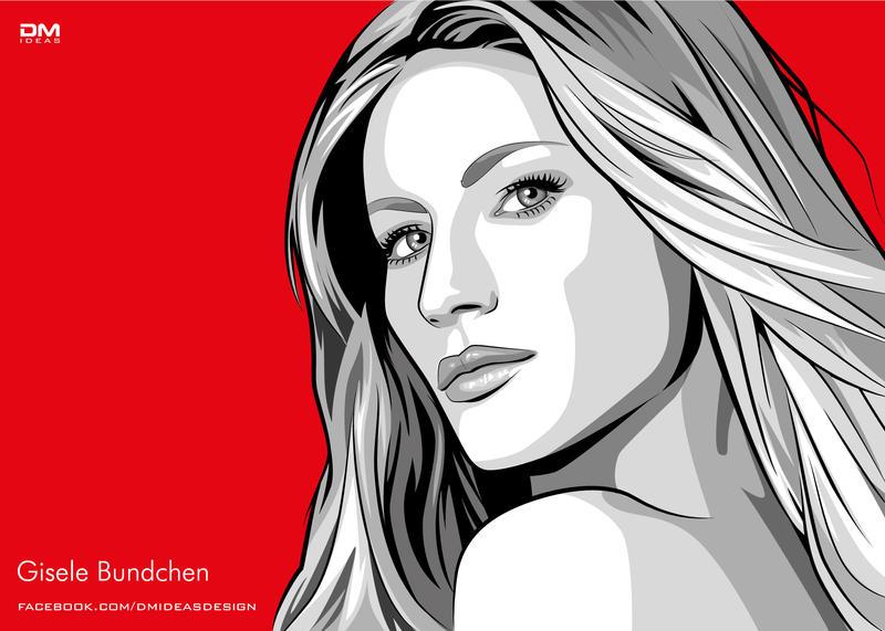 Vector portrait by dmideas on deviantart