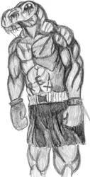 T Rex Boxer Test by TexasTitan