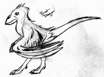 Parrot Drake Design 1 by TexasTitan