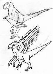 Parrot Drake Designs 2 and 3 by TexasTitan