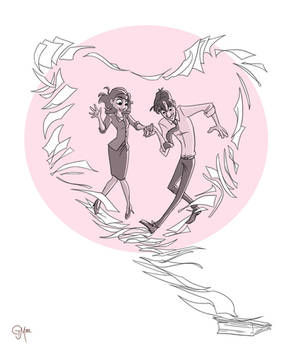 Paperman - Meg and George