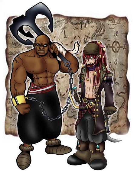 Leonard Barbaroja y Nhu by DaGreatVincE