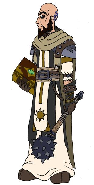 Humano clerigo by DaGreatVincE