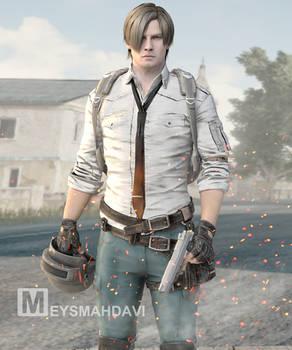 Leon kennedy In PUBG -PlayerUnknown's Battleground
