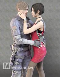 Leon X Ada (Resident Evil Remake)