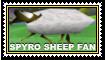 Spyro Sheep Fan stamp by Thornacious