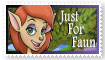 Just For Faun club stamp by Thornacious