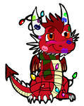 Chibi Xmas Thorn animation by BethanyLK by Thornacious