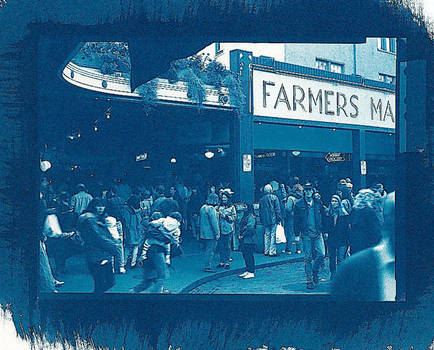 Pike Place Market blue