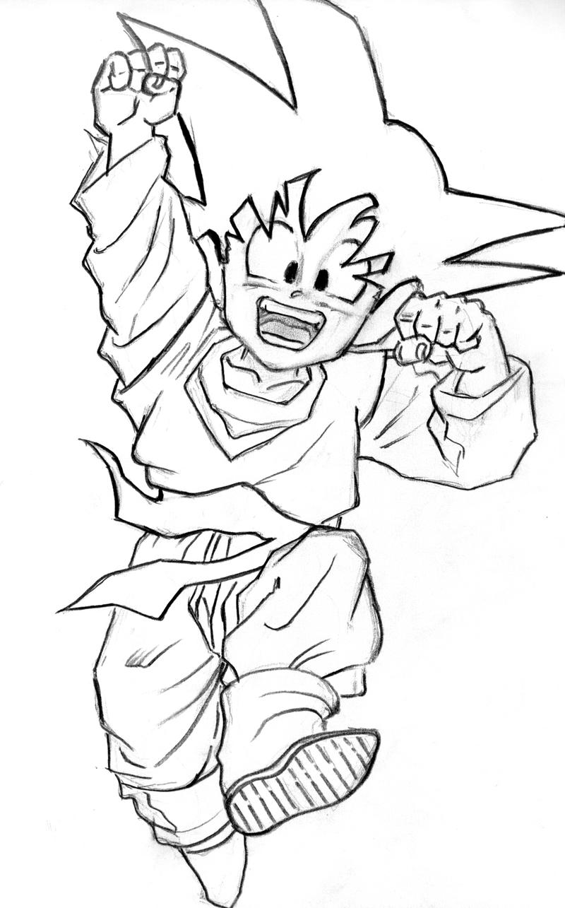 r  byan ajusta  dragon ball drawings