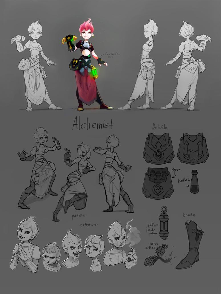 Alchemist by Acidea
