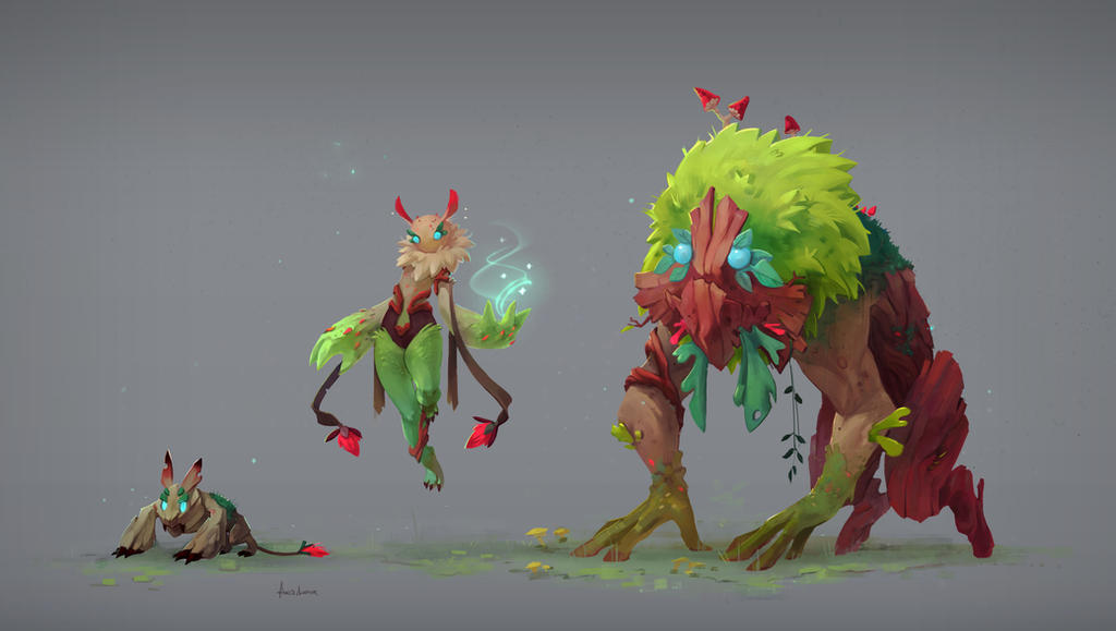 Forest army by Acidea