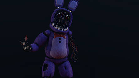 Withered Bonnie Lighting Test by Sallymance