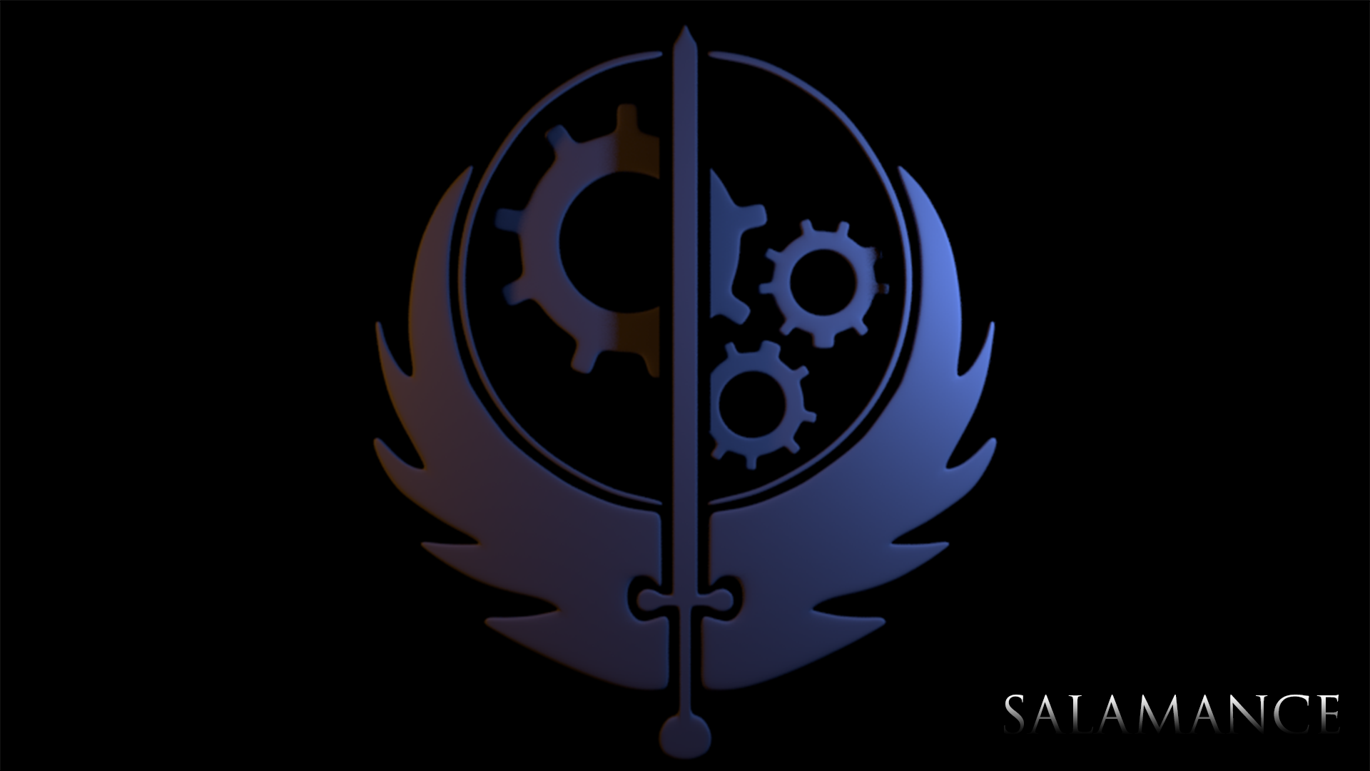FALLOUT Brotherhood Of Steel Logo By SalamanceSFM