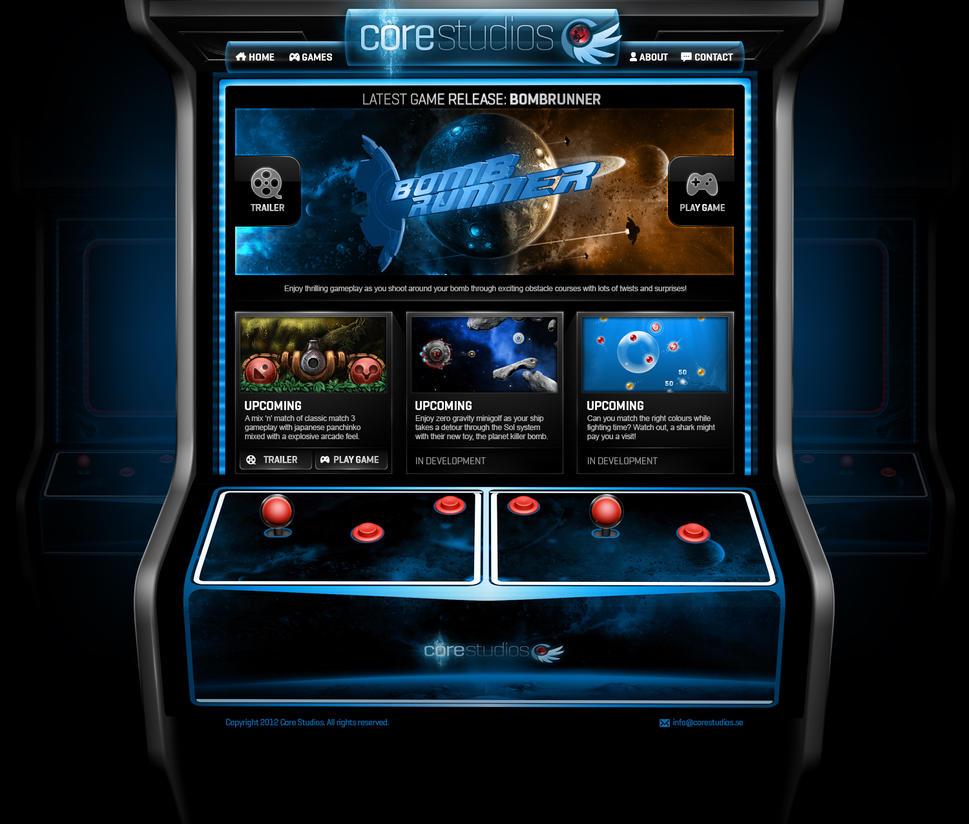 Core Studios Website by fredrikpj
