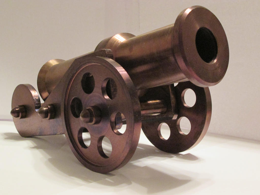 Miniature Cannon by Bemari