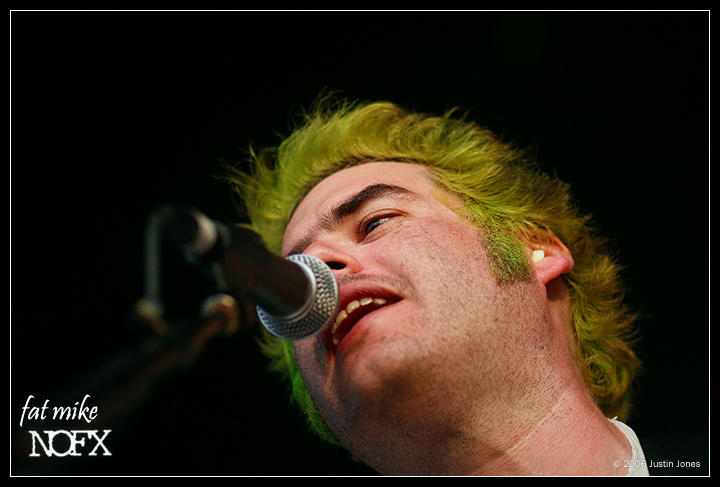 fat mike - nofx by digimatte